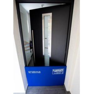 Mobiler Hochwasserschutz für Eingangstüren