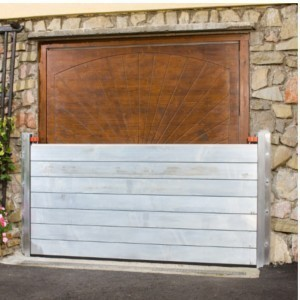 Flood protection garage
