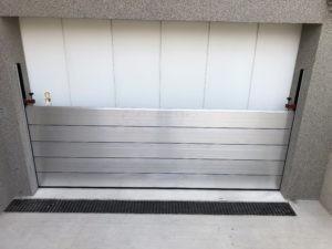 Prefa Dammbalkensystem Hochwasserschutz
