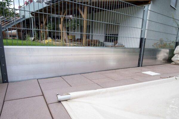 Hochwasser Landschaftsschutz Bausatzssystem